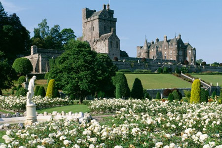 Drummond Castle Garden